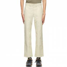 Norse Projects Beige Aaro 60/40 Fatigue Trousers N25-0320