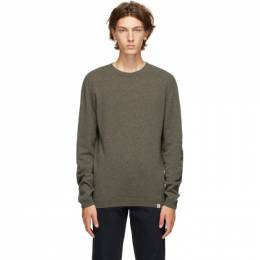 Norse Projects Green Wool Sigfred Sweater N45-0416