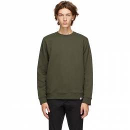 Norse Projects Green Vagn Classic Crew Sweatshirt N20-0261
