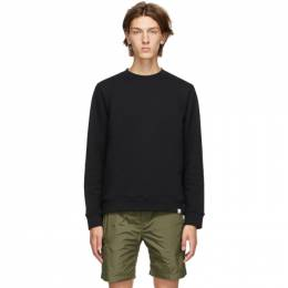 Norse Projects Black Vagn Sweatshirt N20-0261