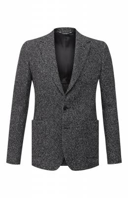 Пиджак из шерсти и хлопка Dolce&Gabbana G20W7T/FC7AR