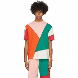 MCQ by Alexander McQueen Multicolor Patchwork T-Shirt 477018RPR06