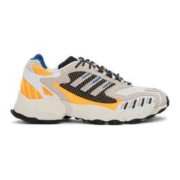 Adidas Originals Black and White Torsion TRDC Sneakers FW9170