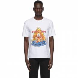 Wacko Maria White Sublime Edition Washed Heavy Weight T-Shirt SUBLIME-WM-WT04