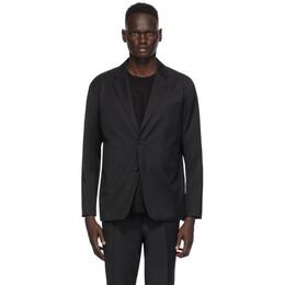 N.Hoolywood Black Wool Blazer JK06-009-AW