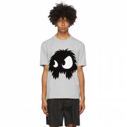MCQ by Alexander McQueen Grey Chester Monster T-Shirt 291571RPR15