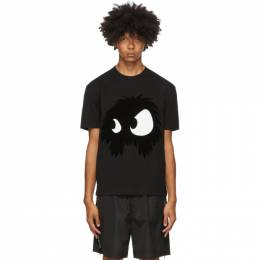 MCQ by Alexander McQueen Black Chester Monster T-Shirt 291571RKH52
