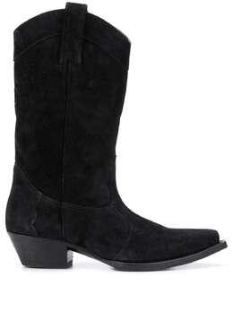 Saint Laurent ковбойские ботинки Lukas 40 6301111NZ00