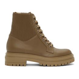 Gianvito Rossi Brown Martis 20 Boots G73884.20CUO.CEO