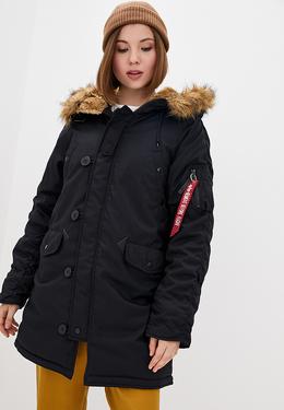 Куртка женская Alpha Industries модель WJA44503C1_black 3926736