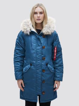 Куртка женская Alpha Industries модель WJE45500C1_blue 3928076
