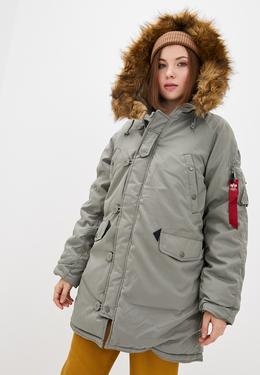 Куртка женская Alpha Industries модель WJA44503C1_algr 3926691