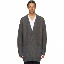 3.1 Phillip Lim Multicolor Brushed Wool Plaid Cardigan F202-7556NLRM