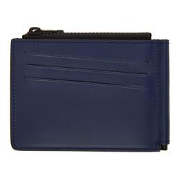 Maison Margiela Blue Money Clip Wallet S35UI0447 PS935
