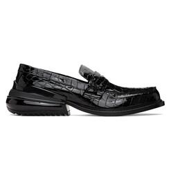 Maison Margiela Black Croc Airbag Loafers S57WR0110 P3715 T8013