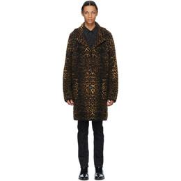 Saint Laurent Beige Wool Single-Breasted Coat 631198YARC2
