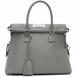Maison Margiela Grey Medium 5AC Bag S56WG0093 P0396