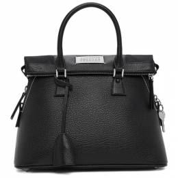 Maison Margiela Black Medium 5AC Bag S56WG0093 P0396