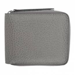 Maison Margiela Grey Zip Around Wallet S56UI0111 P0399