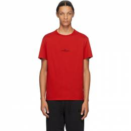 Maison Margiela Red Mako Cotton T-Shirt S30GC0701 S22816