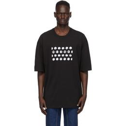 Maison Margiela Black Cut-Out Logo T-Shirt S50GC0625 S22816