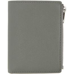 Maison Margiela Grey Multi-Functional Trifold Wallet S55UI0274 P0399