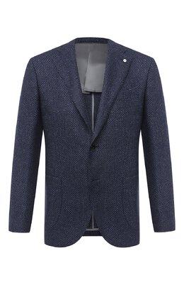 Пиджак из шерсти и кашемира L.B.M. 1911 2411/02102
