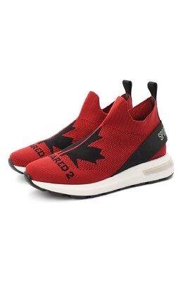 Текстильные кроссовки Dsquared2 64917/T.TEJA+F0GL+D2/36-41