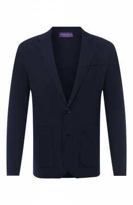 Шерстяной пиджак Ralph Lauren 790726159