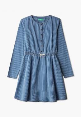 Платье джинсовое United Colors Of Benetton 4OJ35VDX0