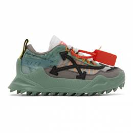 Off-White Green ODSY-1000 Sneakers OWIA180E20FAB0020606