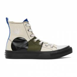 MCQ by Alexander McQueen Multicolor Orbyt High Sneakers 621914R2693
