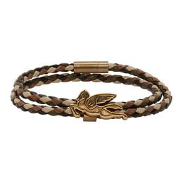 Etro Brown Pegasus Bracelet 1t477 9546