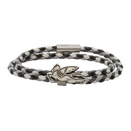 Etro Blue Pegasus Bracelet 1t477 9546