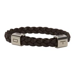 Etro Brown Cubo Bracelet 1t475 9548