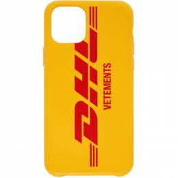 Vetements Yellow DHL Express Edition iPhone 11 Pro Case UAH21AC284