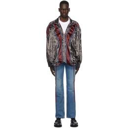 Y / Project Purple Velvet Pop Up Jacket JACK68-S19