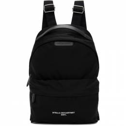 Stella McCartney Black Eco Nylon 2001 Backpack 700154WU069