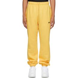 424 Yellow Logo Lounge Pants 3002.115.4034.