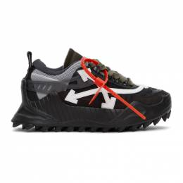 Off-White Black Odsy-1000 Sneakers OWIA180E20FAB0011001