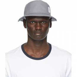 Thom Browne Grey Canvas Classic Bucket Hat MHC327A-06305