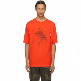 Vans Red WTAPS Edition Waffle Lovers Club T-Shirt VN0A4TRDZXT