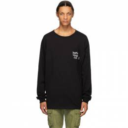 Vans Black WTAPS Edition Waffle Lovers Club Long Sleeve T-Shirt VN0A4TRCBLK
