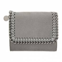 Stella McCartney Grey Falabella Trifold Wallet 431000W9132
