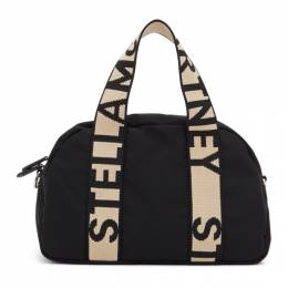 Stella McCartney Black ECONYL® Medium Boston Bag 700126W8729