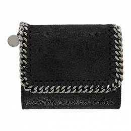 Stella McCartney Black Falabella Trifold Wallet 431000W9132