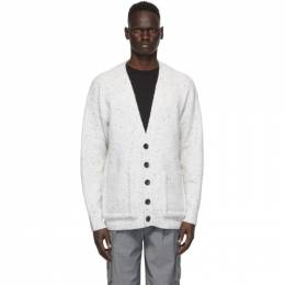 Tibi Off-White Oversized Easy Cardigan P220ET6292