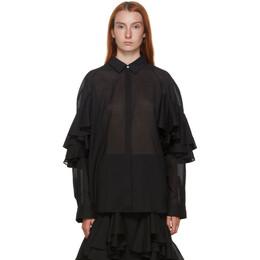 Toteme Black Locarno Shirt 203-702-704