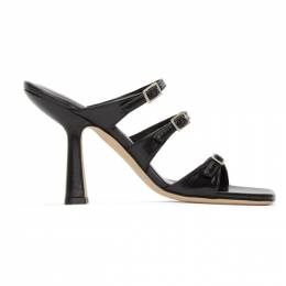 By Far Black Malene Heeled Sandals 20PFMALSBLCRE