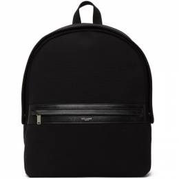 Saint Laurent Black Camp Backpack 6347212GQ2E